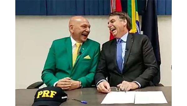 Véio da Havan e Bolsonaro